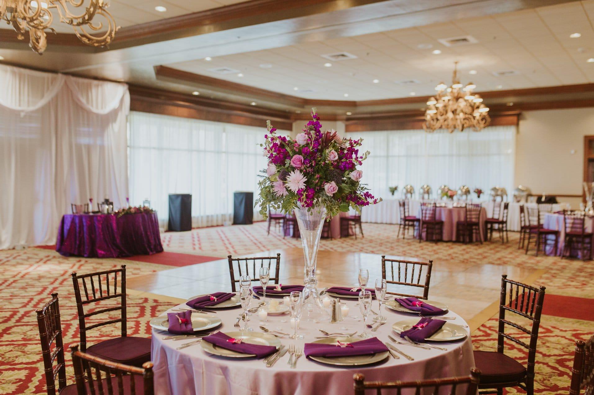 Legends Ballroom - indoor wedding reception venue at Mission Inn Resort