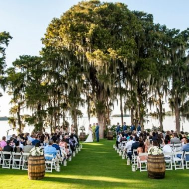 Marina del Rey - outdoor lakeside wedding venue at Mission Inn Resort