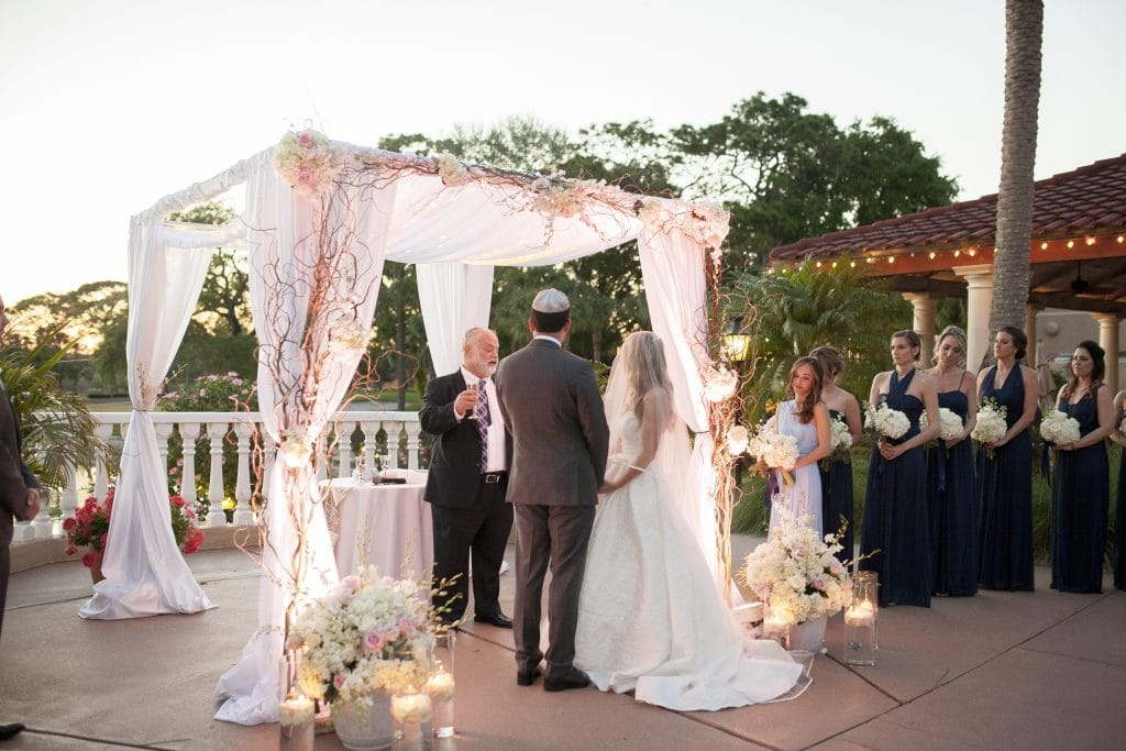 Plaza de la Fontana - Jewish wedding under the chuppah