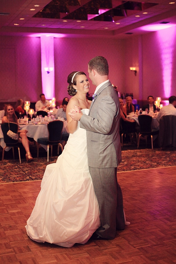 Stephanie and Joe's first dance