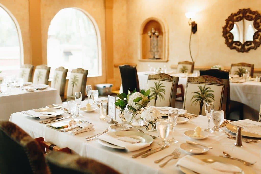 El Conquistador - intimate and elegant wedding brunch location