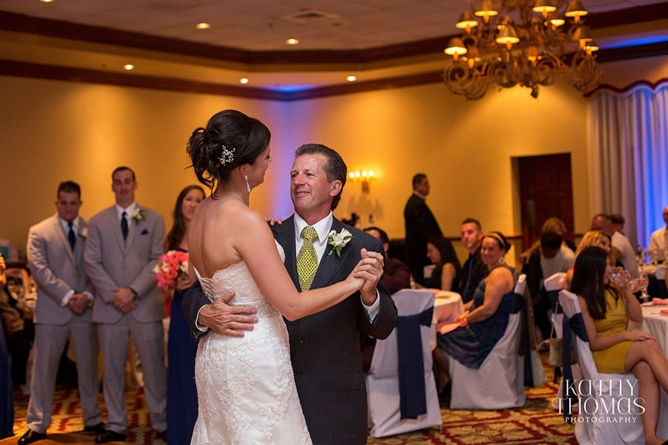 bride and father dancing in Legends Ballroom