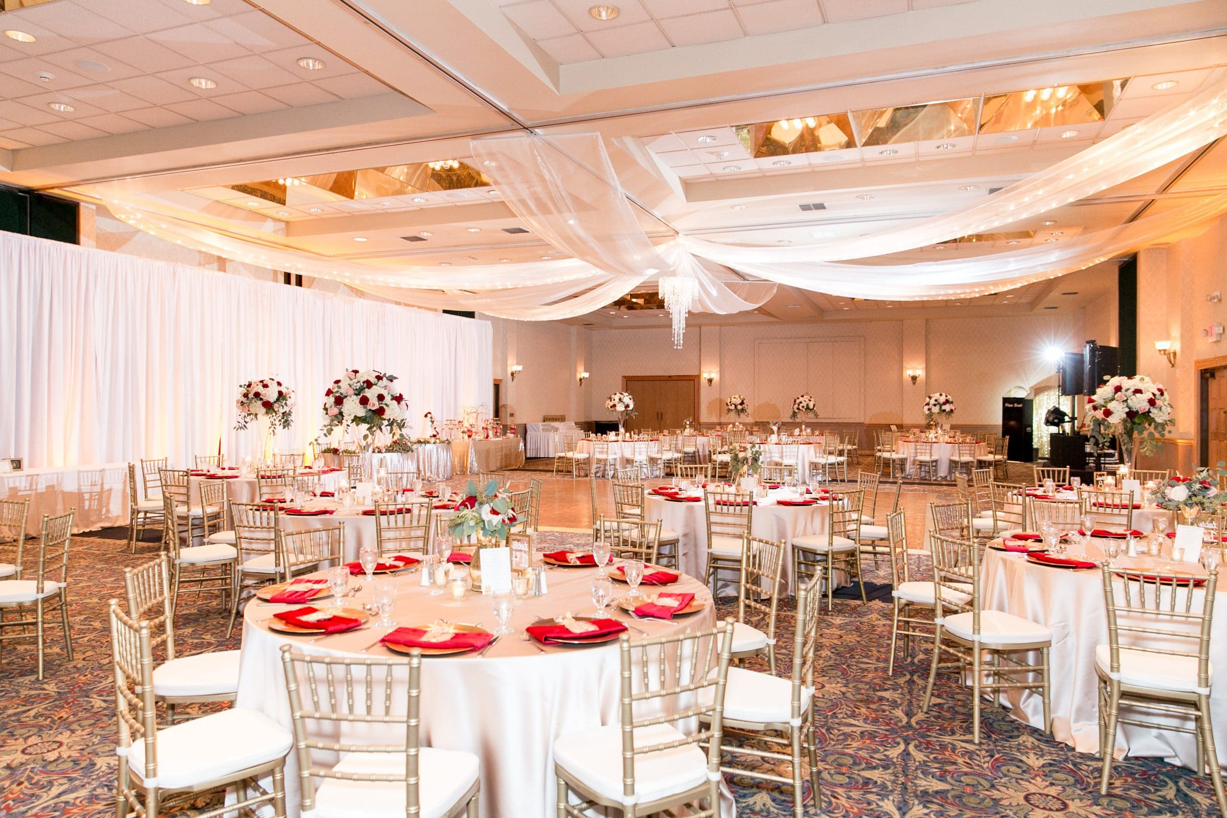Grand Ballroom - our largest wedding reception venue