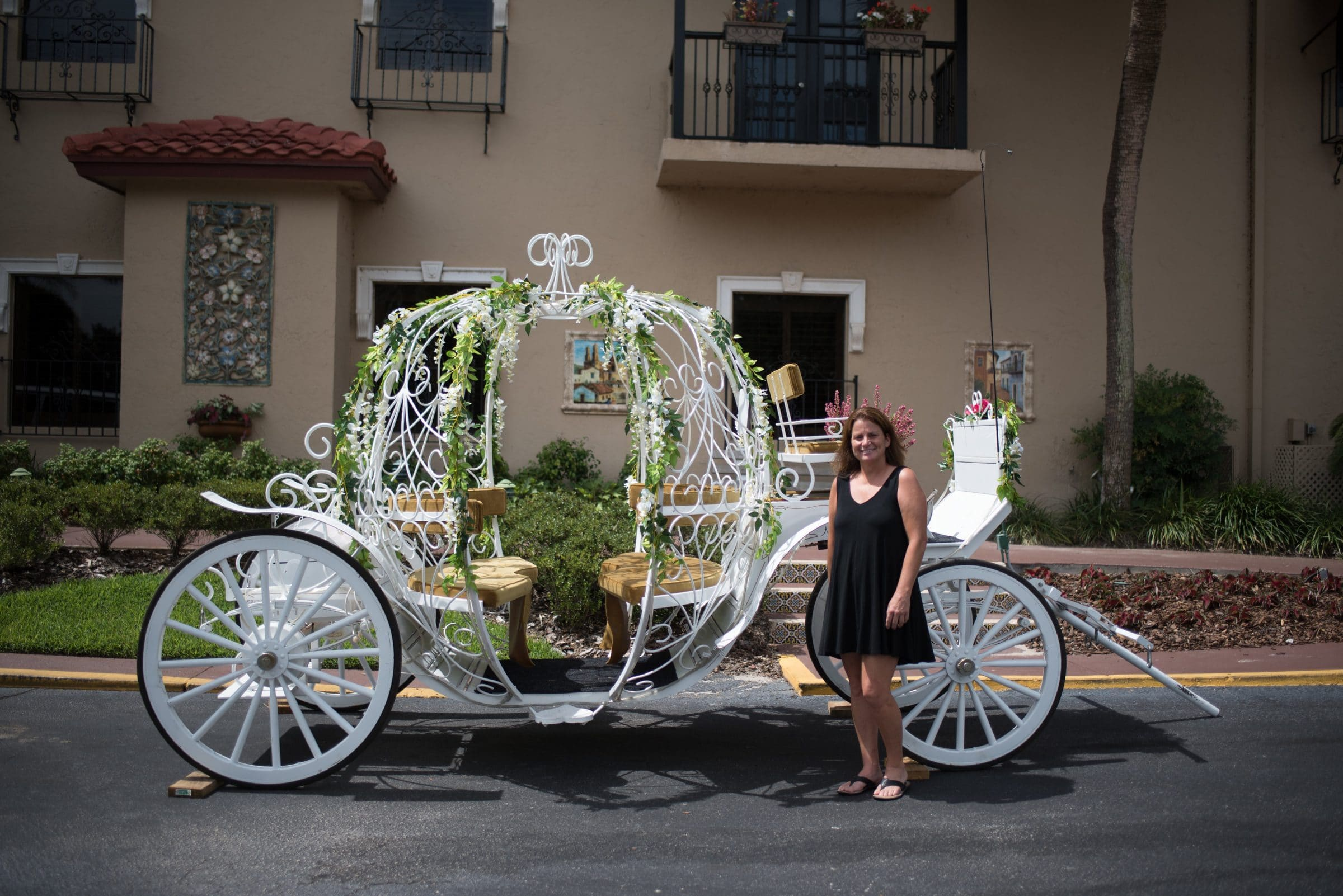 Soul Haven Ranch Wedding Carriage at Mission Inn Showcase