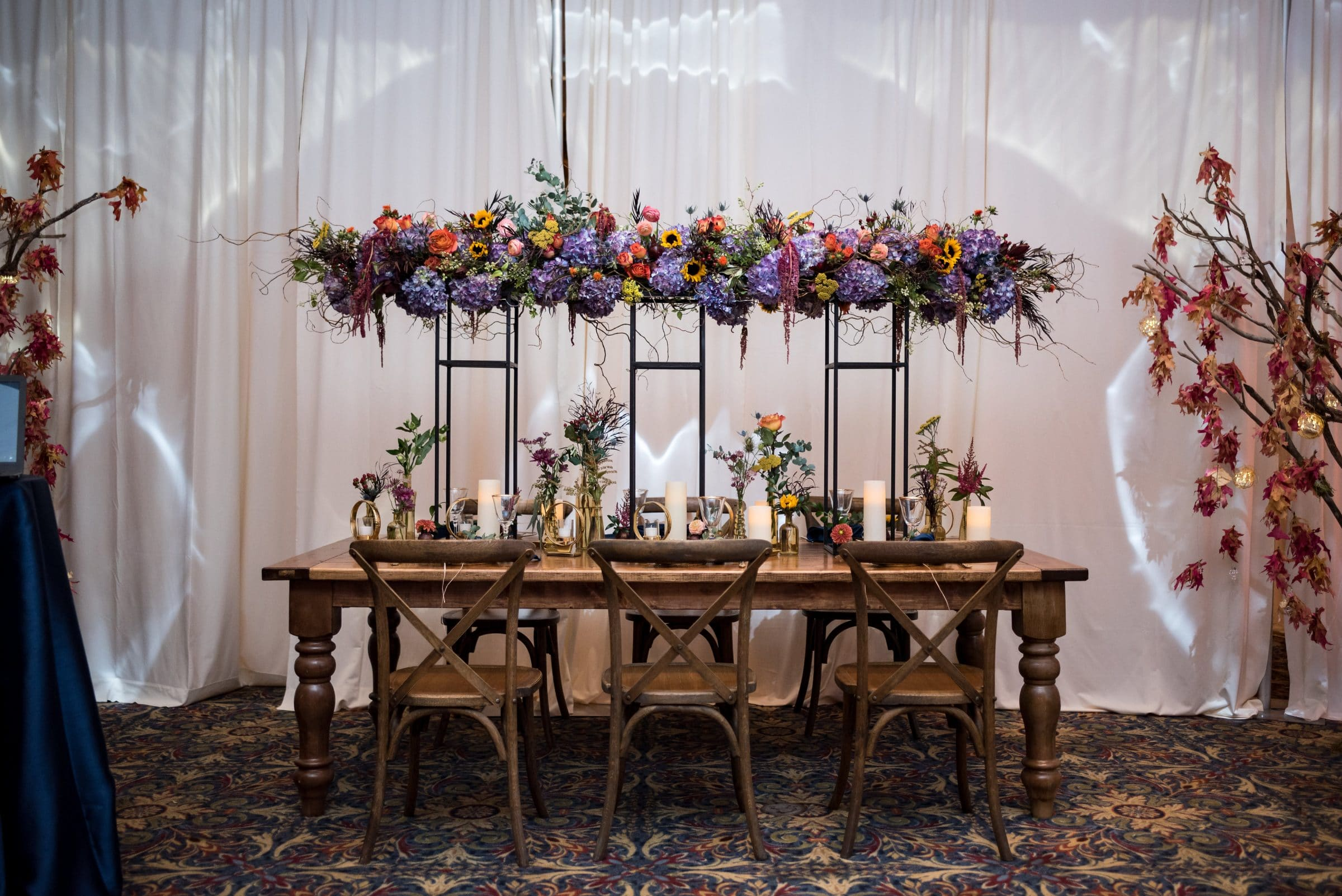 Wedding Inspiration Fall Tablescape