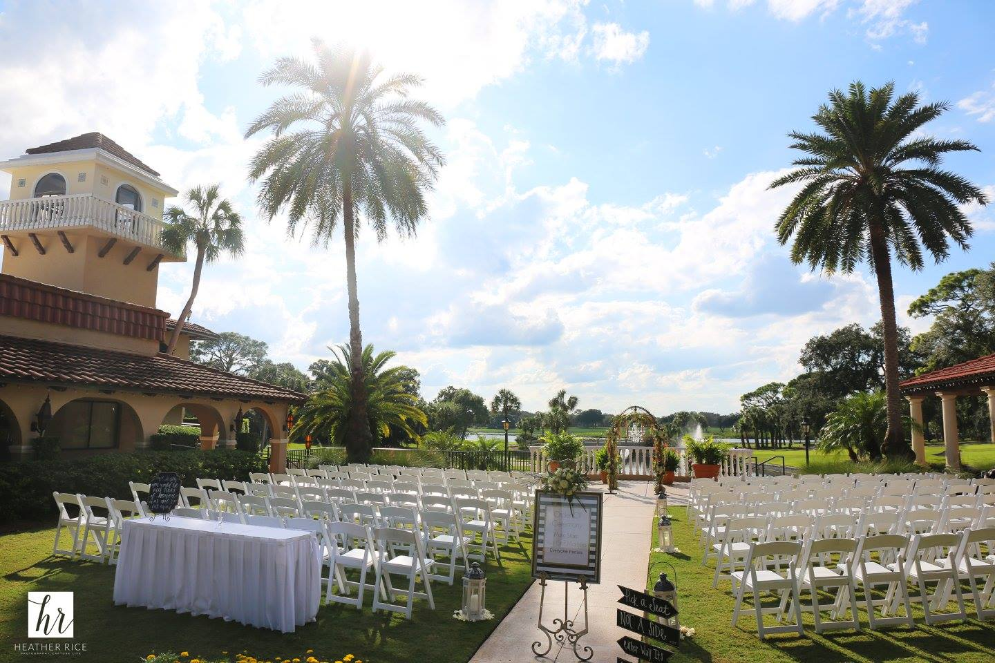 Orlando Wedding Garden Ceremony