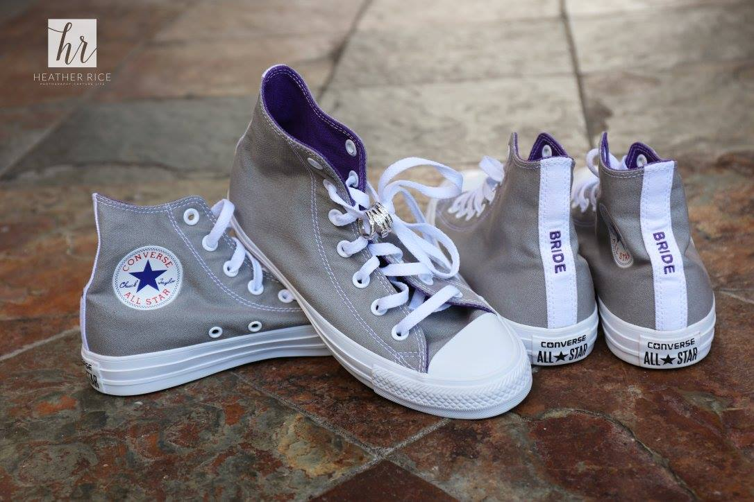 Wedding Shoes Converses - Bride