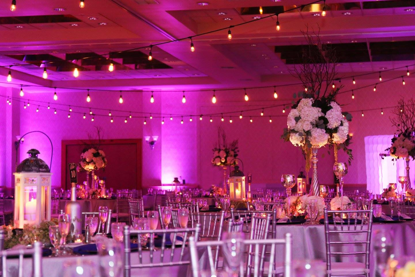 Orlando Ballroom Wedding Market Lighting