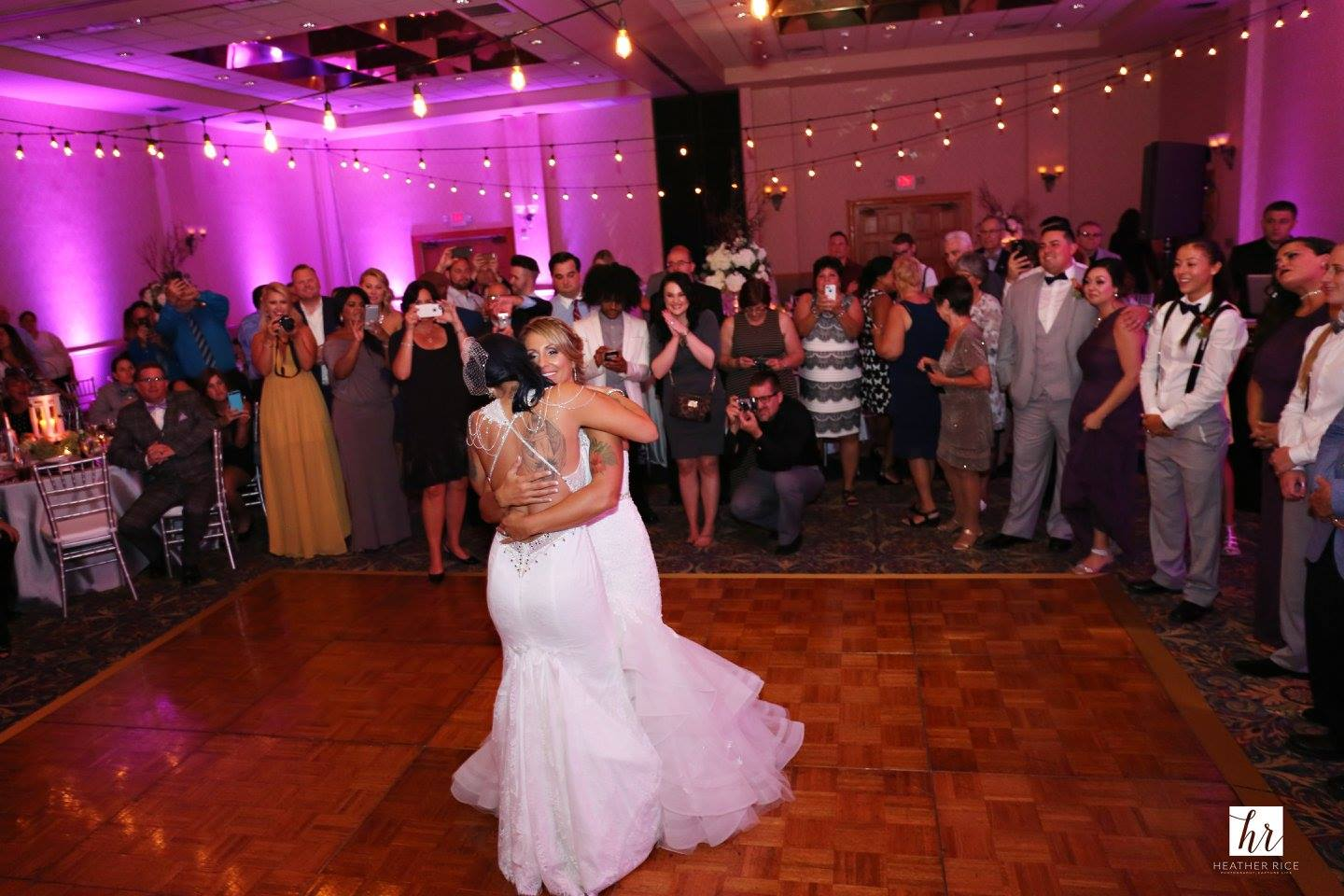 Same Sex Ballroom Wedding First Dance in Orlando