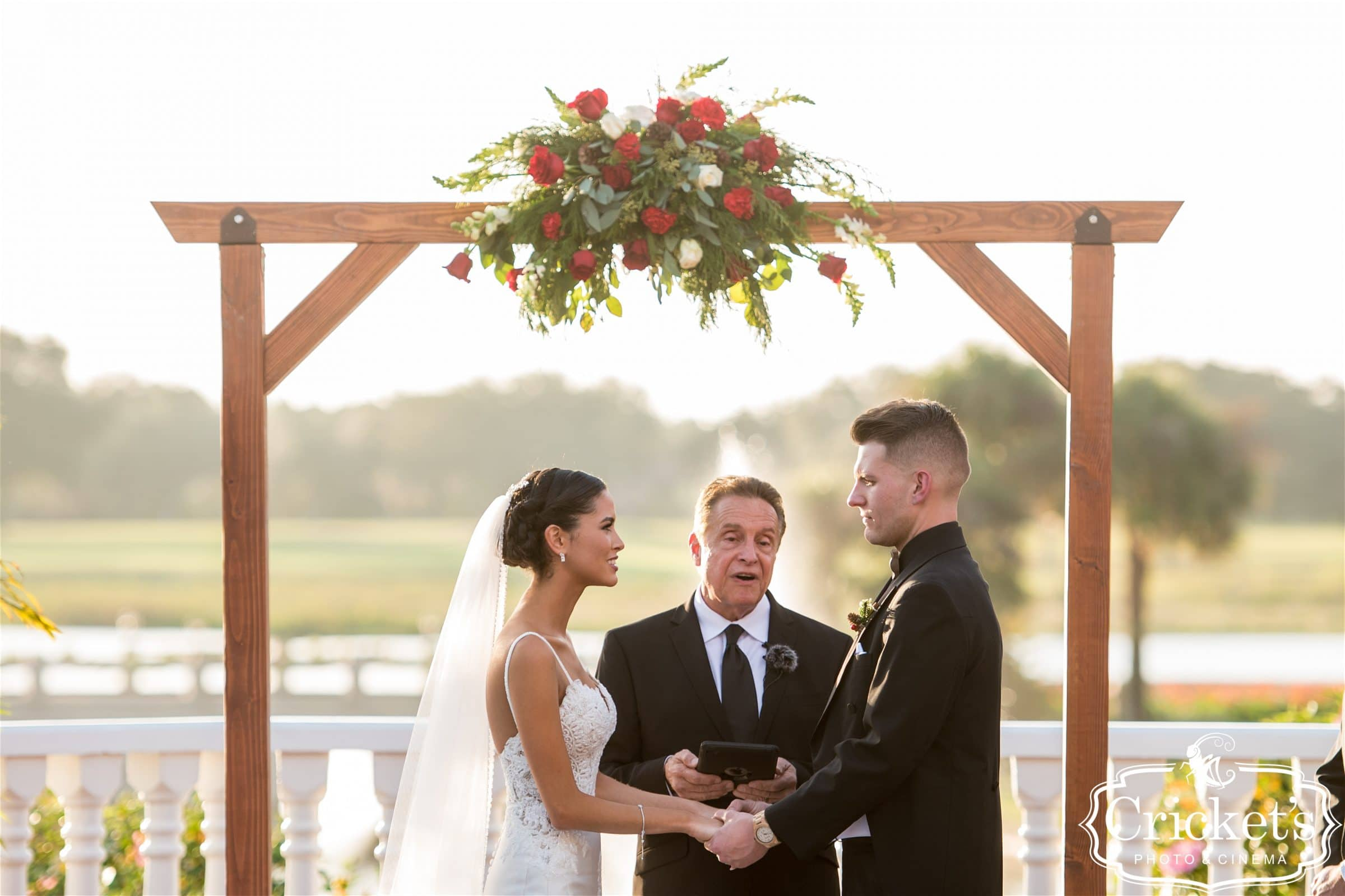 Wedding Vows with Central Florida wedding officiant