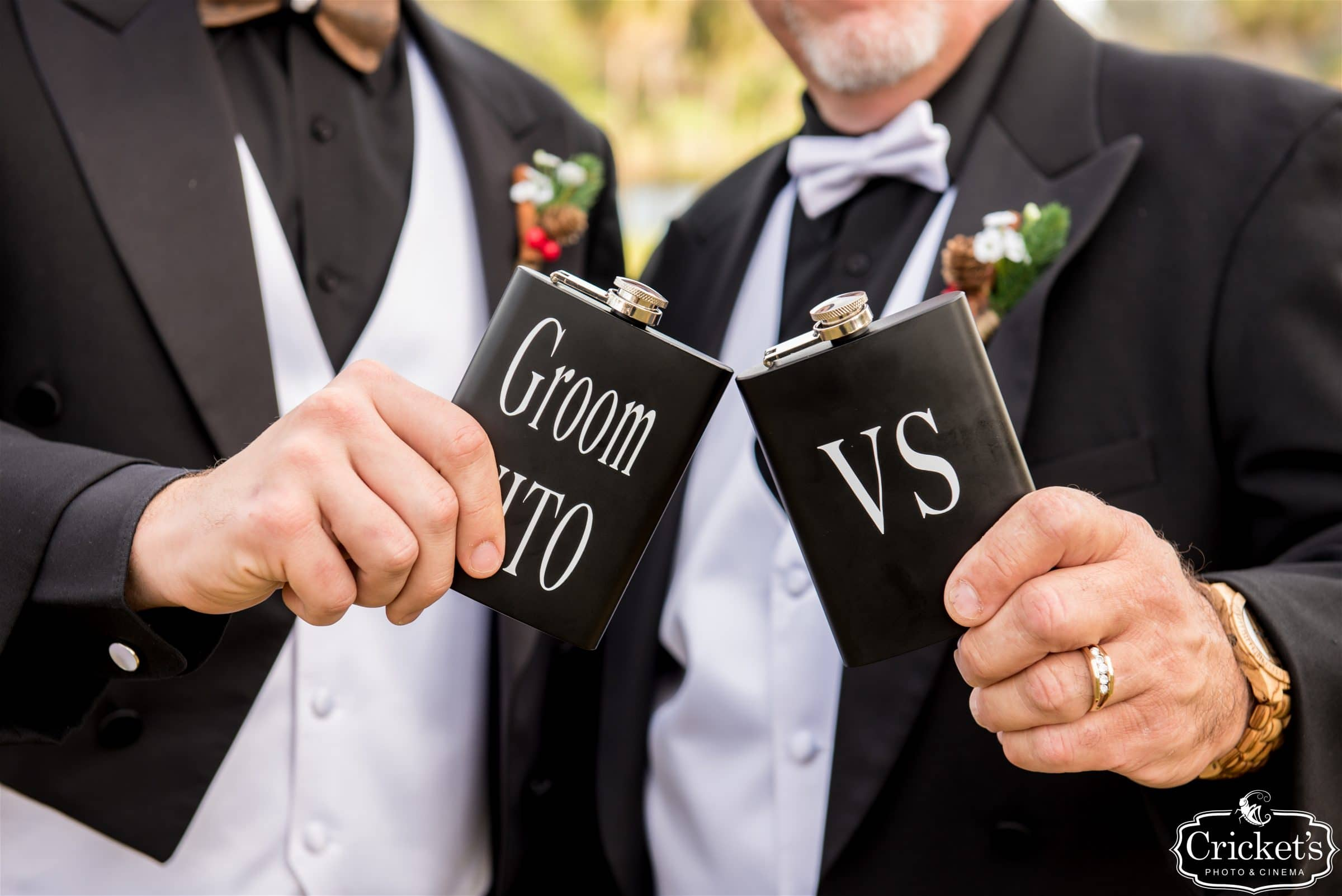 Wedding Groomsmen Flasks