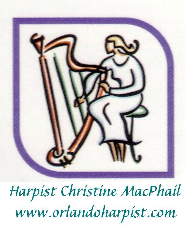 Harpist Christine