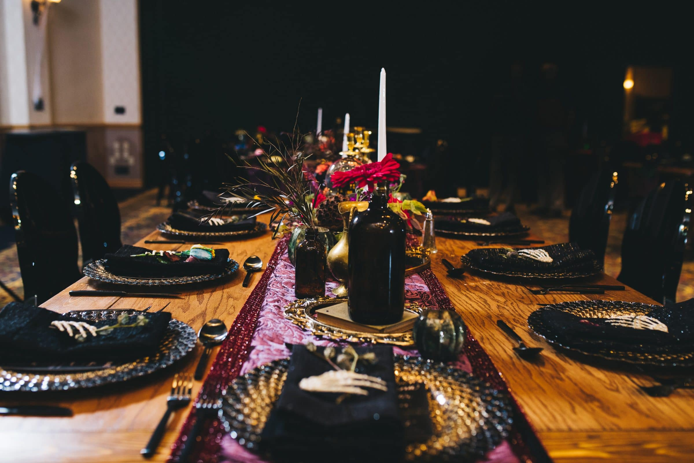 Halloween Table Decor - Questions to ask your Vendor