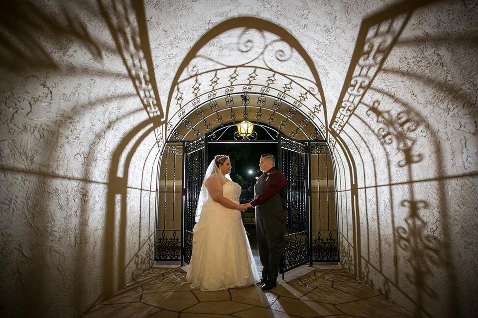 Two brides wedding portrait