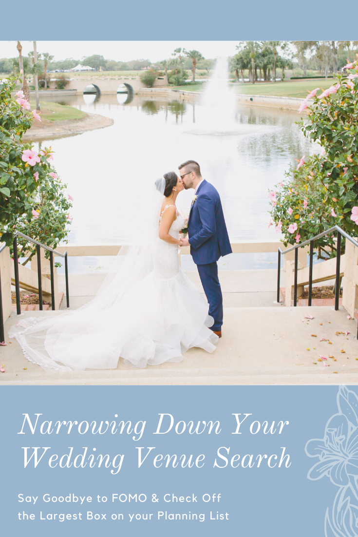 Narrowing Down Your Wedding Venue Search