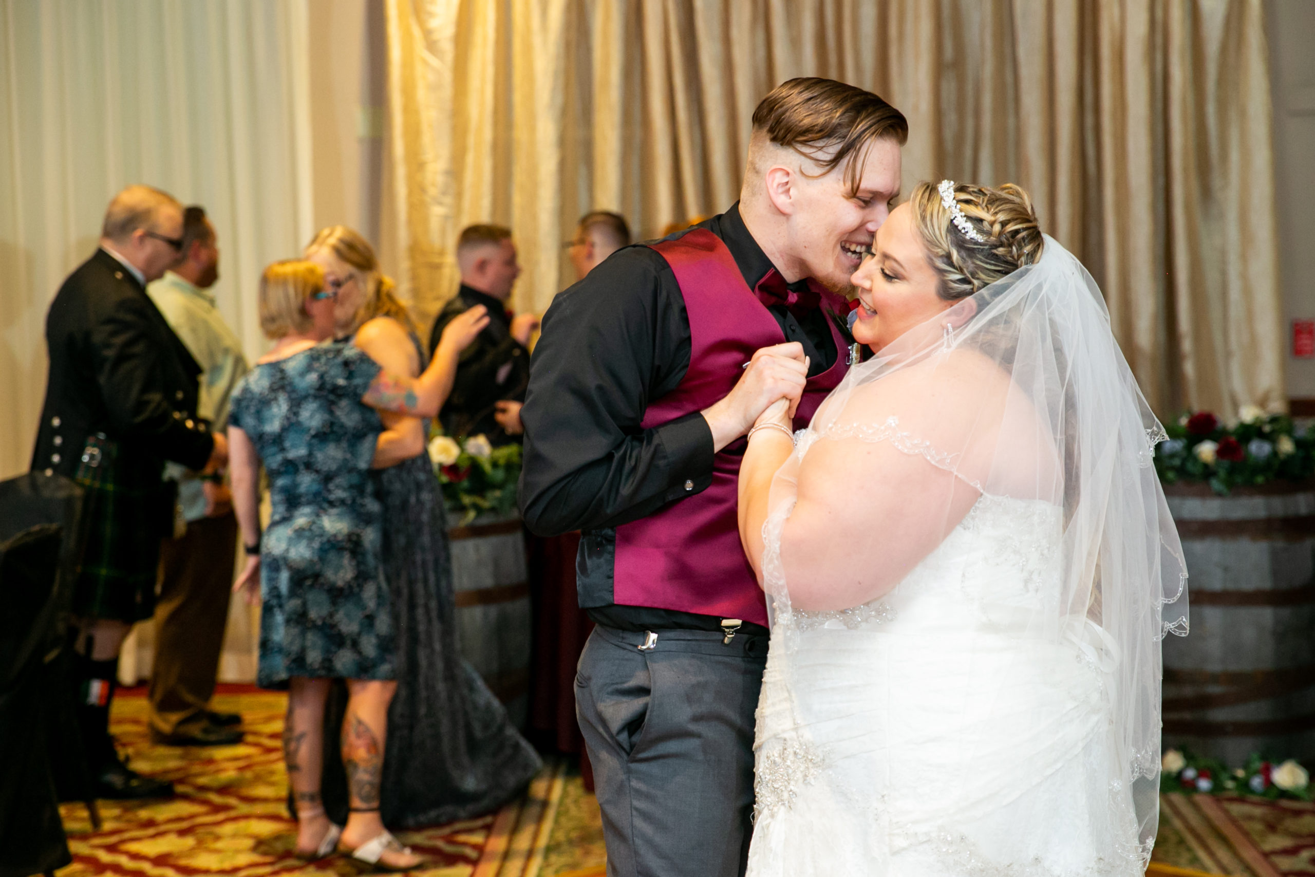 brides dance with brother in law