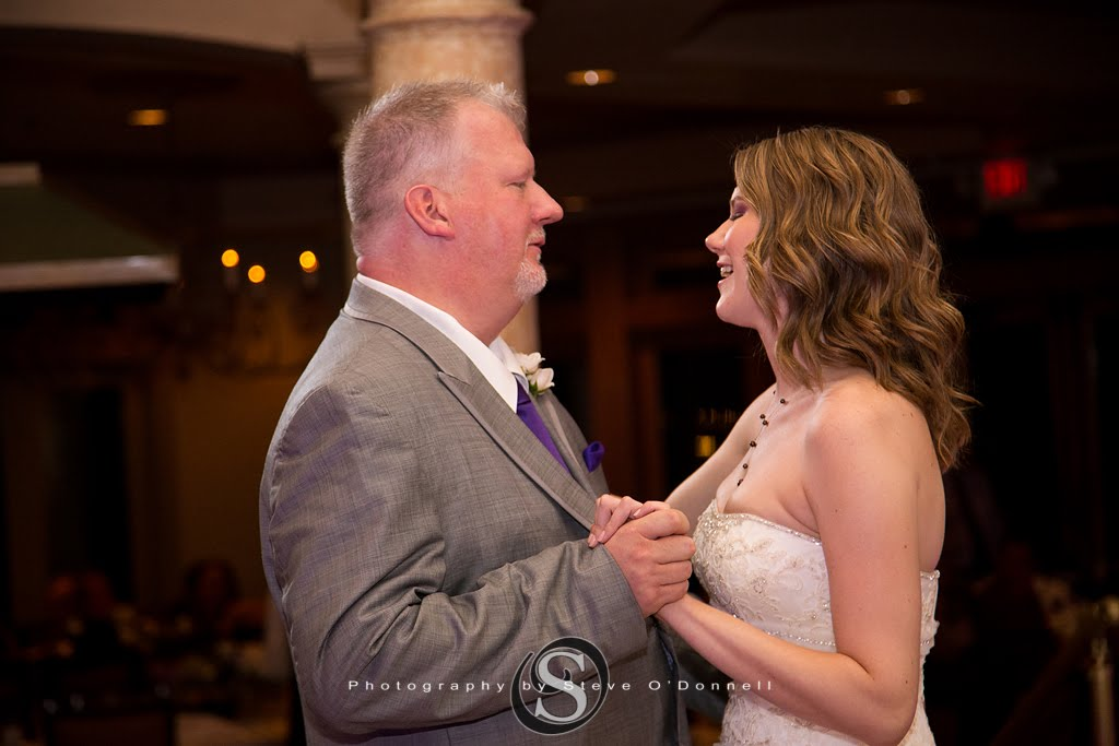 father dancing with his bride daughter