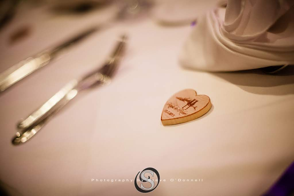 Heart Shaped Place Card