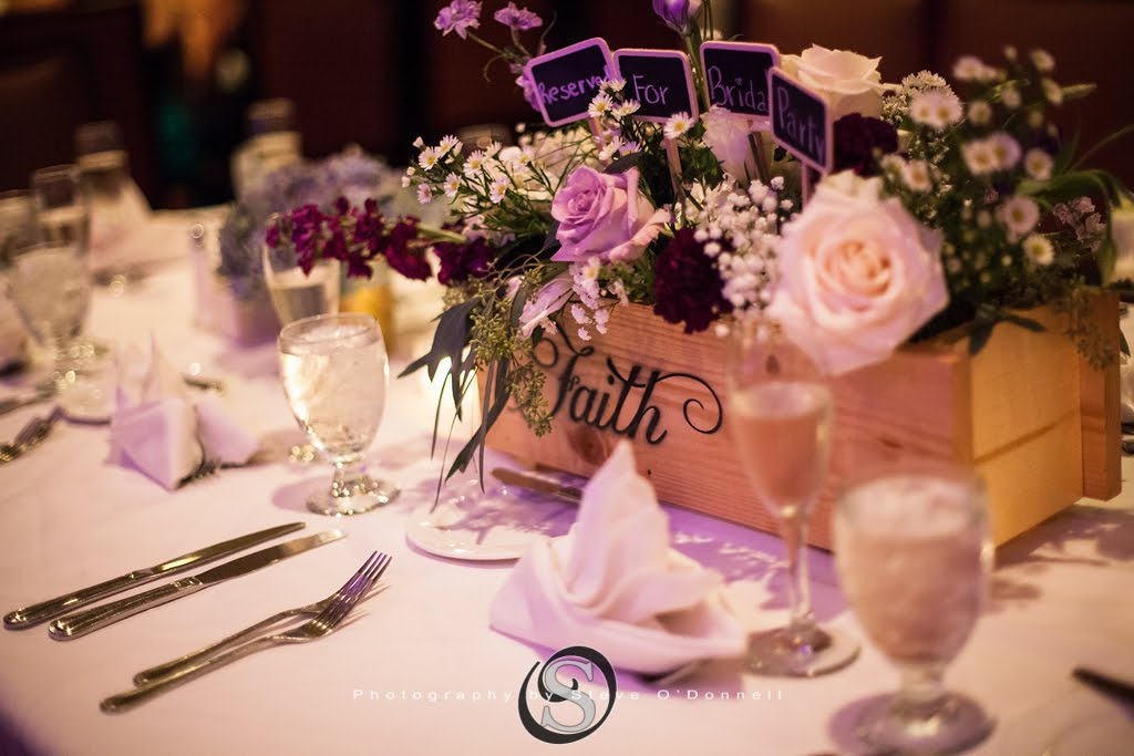 Zoomed in Wedding Tablescape