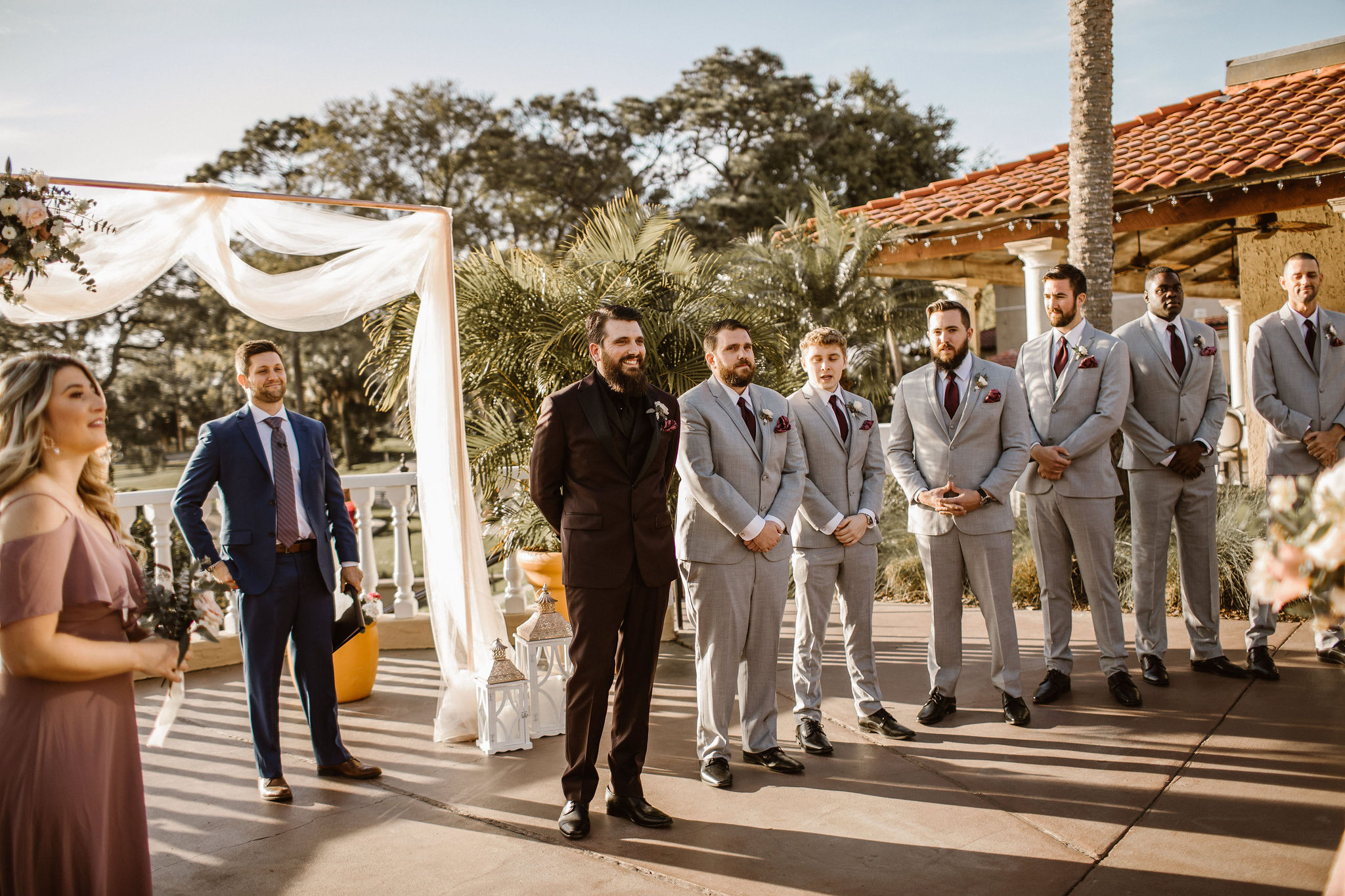 Wedding Ceremony at Mission Inn Resort