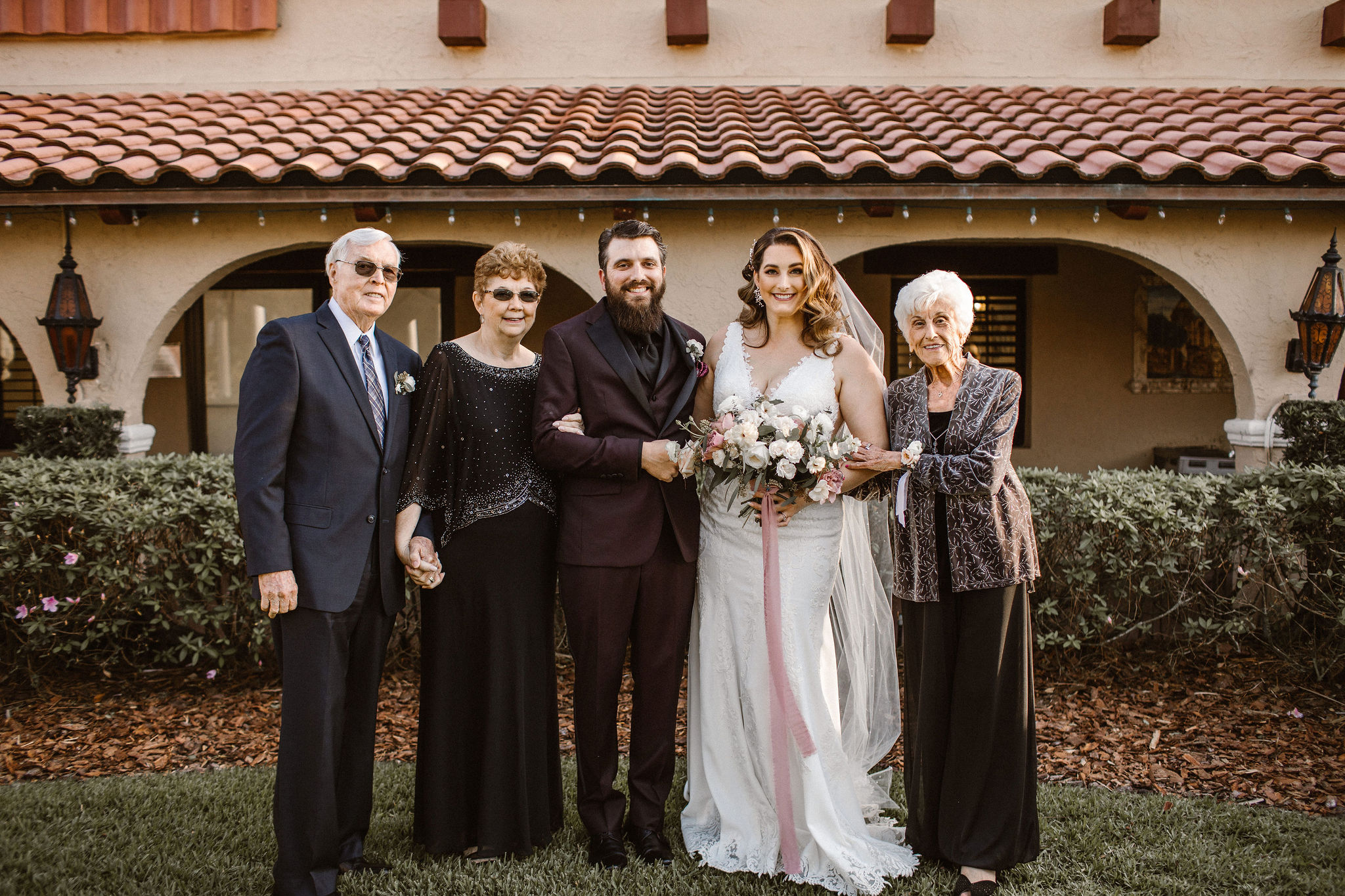 Newlyweds and Grandparents