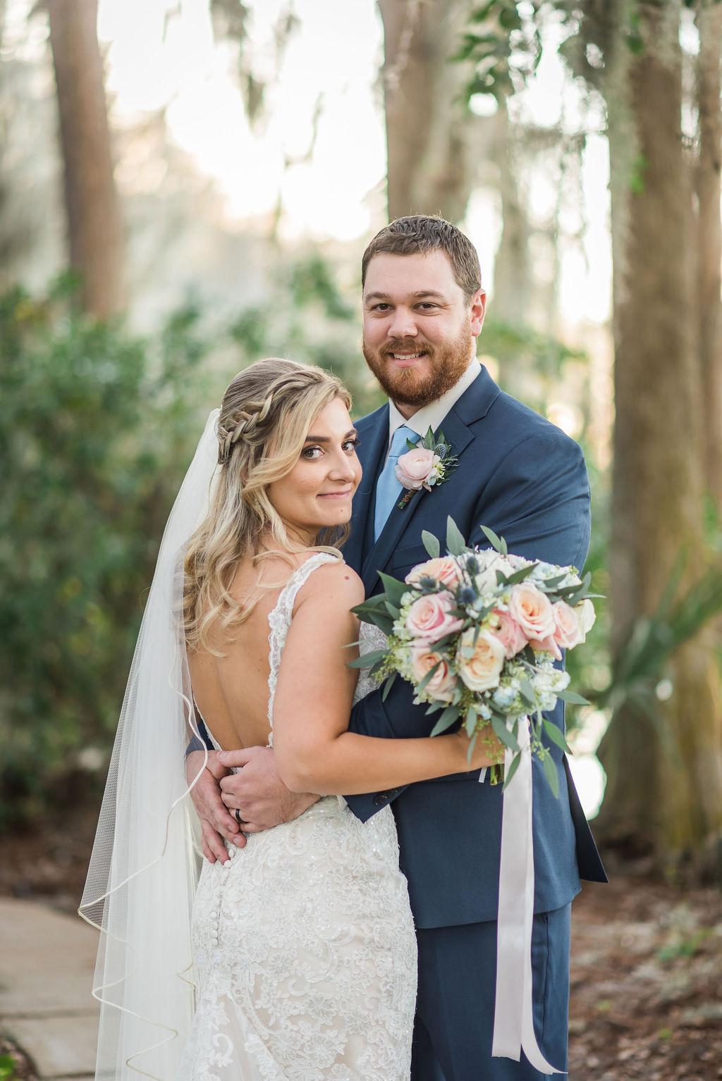 February Marina Wedding