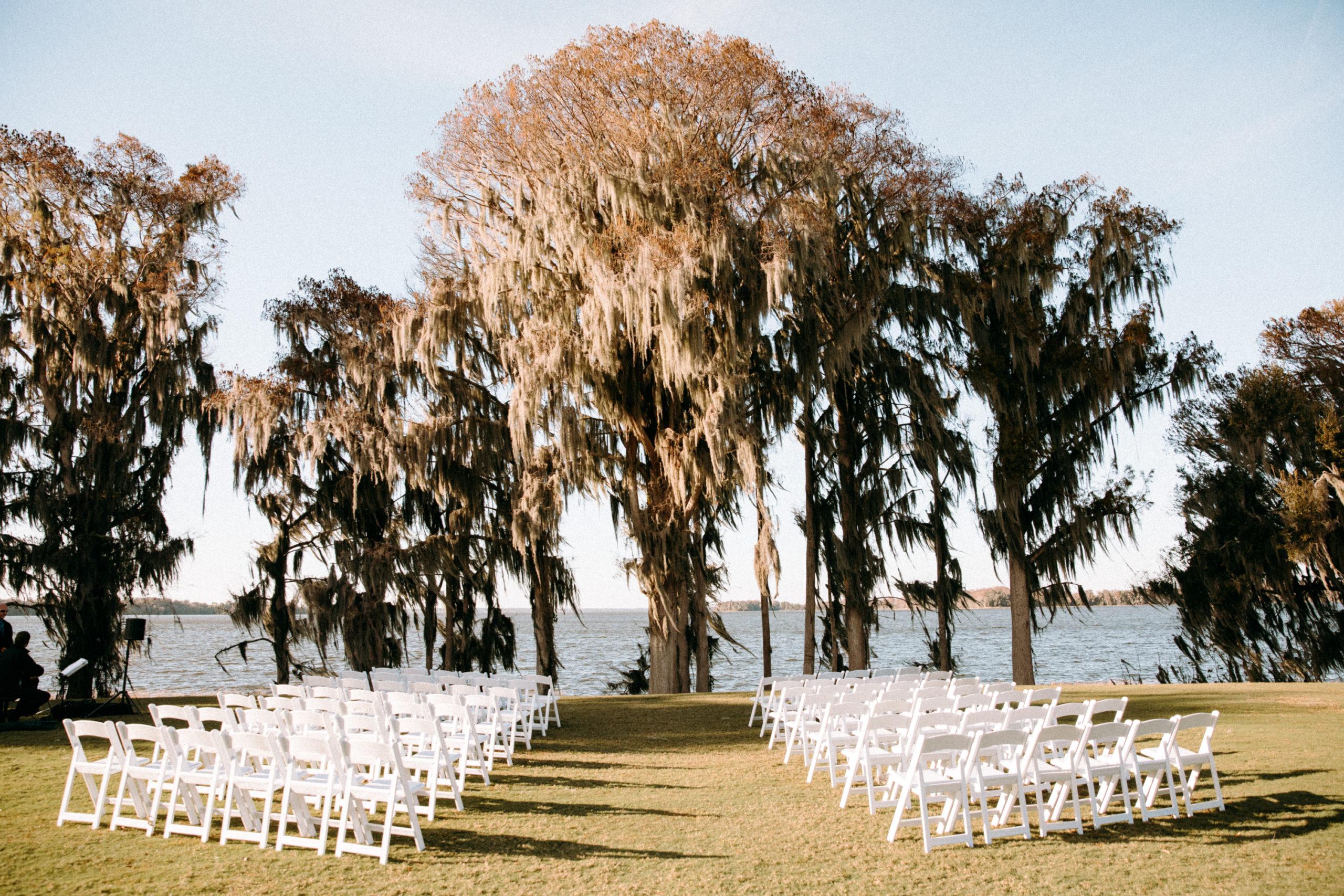 Old Florida Marina Wedding